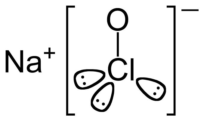 Химическая формула гипохлорита натрия