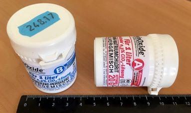ТвинОксид, упаковка 1 литр, в масштабе