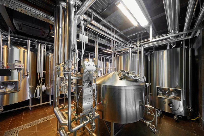 Оборудование пивоварни